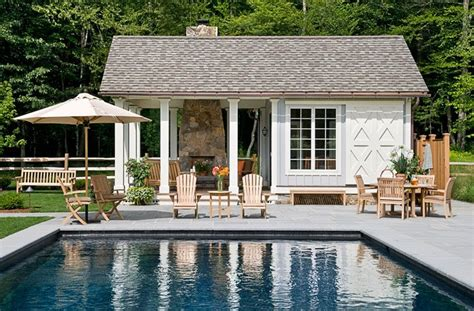 Home Plans With Pools by On The Drawing Board Pool House