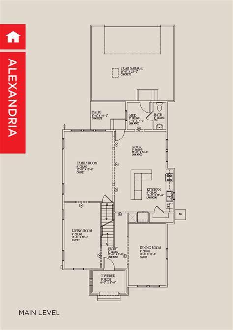 Garbett Homes Floor Plans by 100 Garbett Homes Floor Plans Alexandria New Homes
