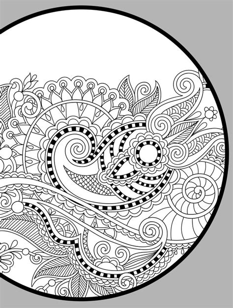 abstract paisley coloring pages 344 best images about abstract zentangles paisley etc to
