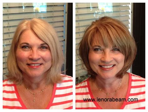dye hair before or after haircut before and after hair color and cut makeover light