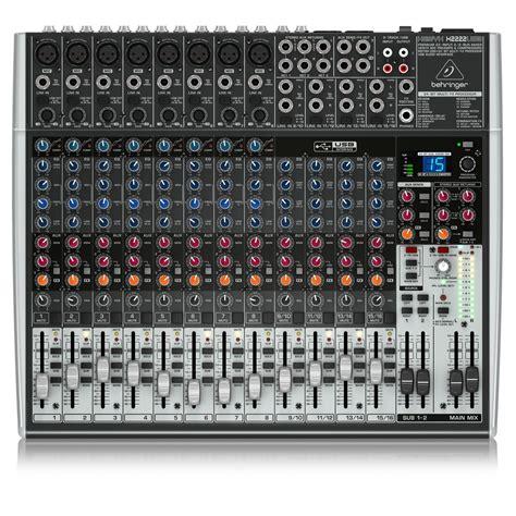 Mixer Lighting Behringer behringer xenyx x2222usb mixer at gear4music