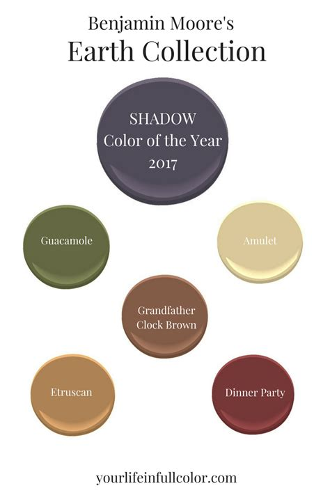 benjamin color palettes benjamin s shadow 2117 30 spices up an earth tone