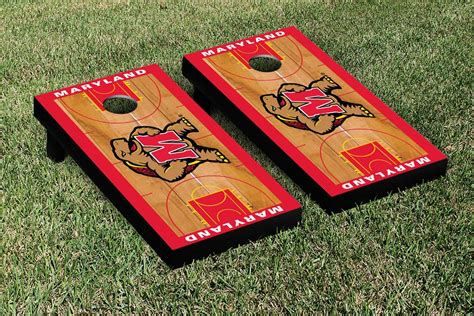 Meryland Set Set Gamis maryland terrapins basketball court set
