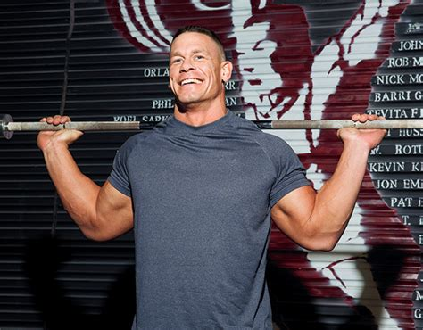 john cena bench max john cena six weeks to more size and strength men s fitness