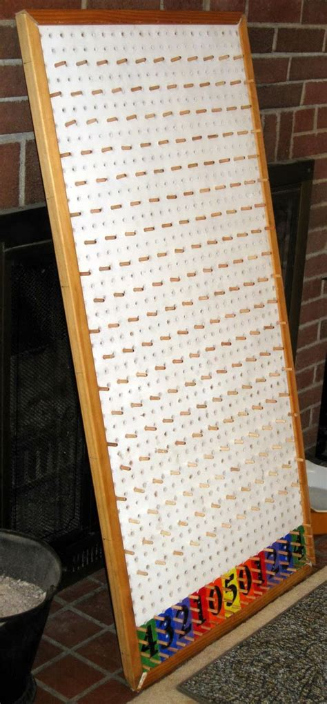 make your own plinko board kidland ideas pinterest