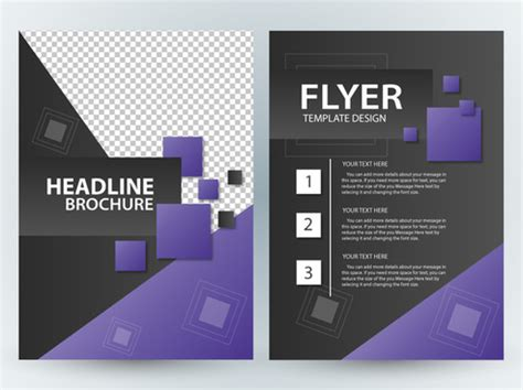 Free Illustrator Vector Brochure Free Vector Download 221 030 Free Vector For Commercial Use Flyer Template Illustrator