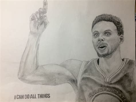 F Drawing Pencil by Stephen Curry Pencil Drawing Stephen Curry A In