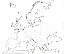 Outline Map Europe And Asia by Free Printable Maps Of Europe