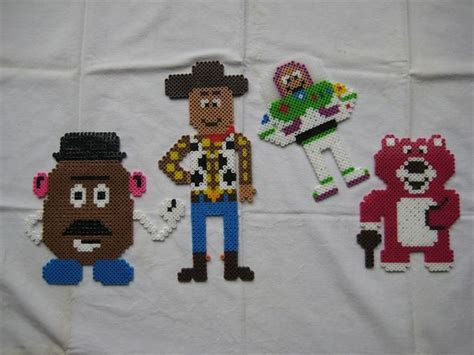 Lotso Story Hama Perler Disney 78 images about tv strijkkralen on