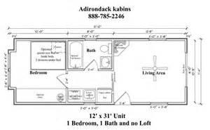 12 X 30 Cabin Floor Plan Living Small Pinterest 30 X30 Floor Plans For Apartts