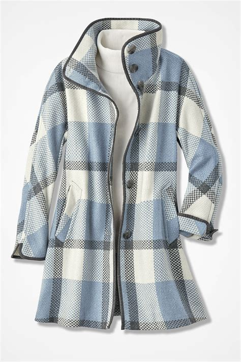 Plaid Coat by Positively Plaid Coat Coldwater Creek