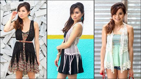 8 Ways To Wear Crochet by How To Wear Crochet Fringe Vests