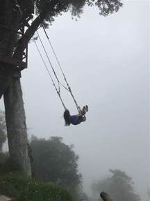 end of the world swing how to swing off the end of the world in banos ecuador