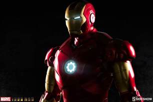 Iron Man Marvel Iron Man Mark Iii Life Size Figure By Sideshow