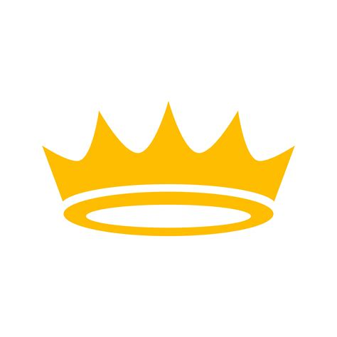 royal crown vector icon   vector art stock