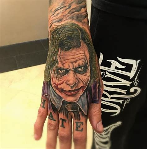 joker hand tattoo tattoo collections