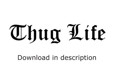 download youtube life thug life sound pack all thug life songs download