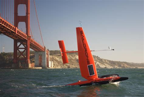 Drone Buat this sailing drone s sensors can chart the like never before news