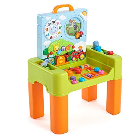 Activity Desk by Huile Play And Learning Activity Desk 6 In 1