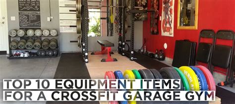 10 crossfit equipments for your garage 2 and 3 are
