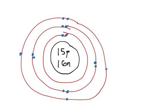 bohr diagram for phosphorus showme phosphorus bohr diagram