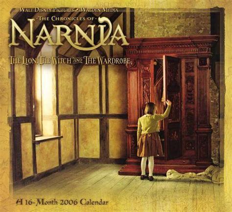 Narnia Wardrobe For Sale by 2006 Narnia The The Witch And The Wardrobe Calendar