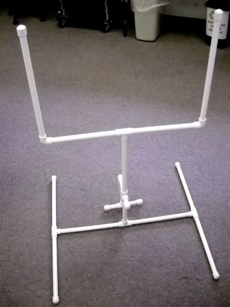 miniature football goal post from pvc all
