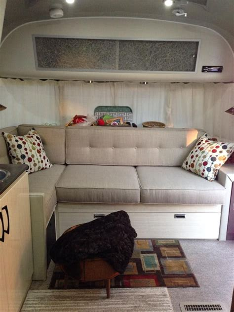 airstream couch 17 best images about airstream serenity mods on pinterest