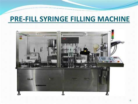 qualification of prefilled syringe machine