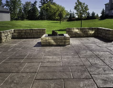 cost of patio pavers vs sted concrete home design ideas