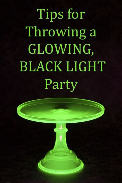 8 Tips For Throwing The by Great Tips For Throwing A Black Light For