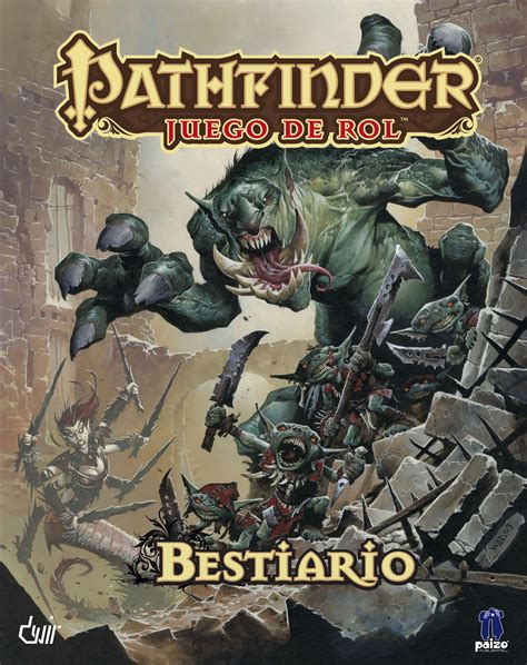 libro monsters a bestiary of paizo com pathfinder juego de rol bestiario ogl pdf