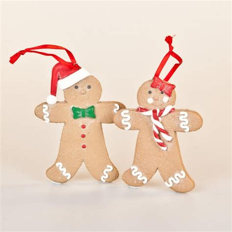 gisela graham christmas mr and mrs gingerbread christmas