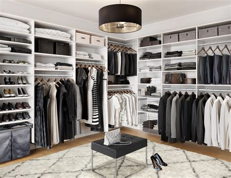 walkin closet walk in closets designs ideas by california closets