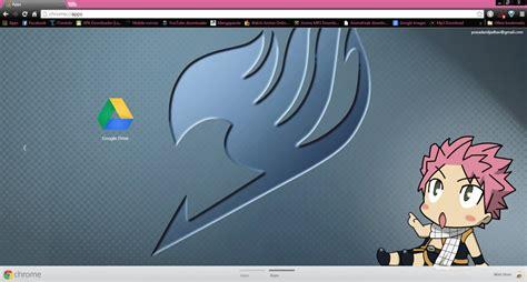 themes google chrome fairy tail cute fairy tail natsu chrome theme by prasad9323 by