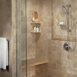 tiled shower photo credit american olean bathroom designs hgtv
