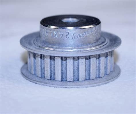 browning 24xlb037x1 4 bushing bore timing belt pulley