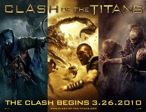 kapan ada film god of war the new clash of the titans posters seem vaguely god of