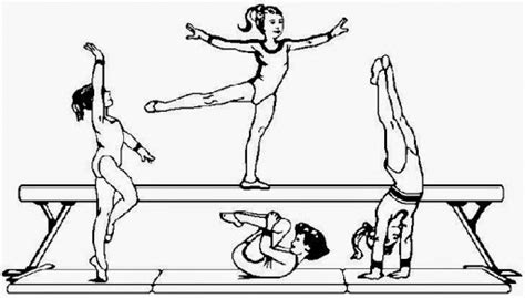 get this printable gymnastics coloring pages gvjp12