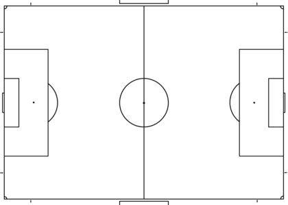 Blank Soccer Field Diagram Coaching Pinterest Blank Football Field Diagram