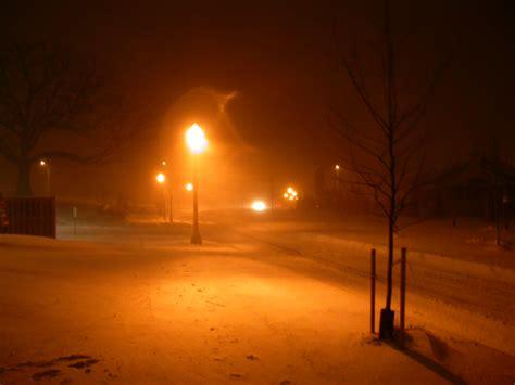 street l at night winter street at night by professormuffin on deviantart