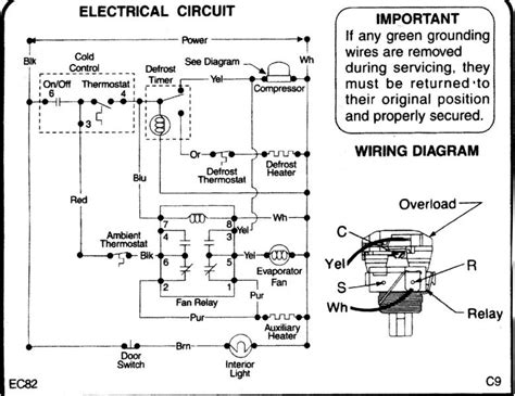 surprising mini refrigerator wiring diagram contemporary