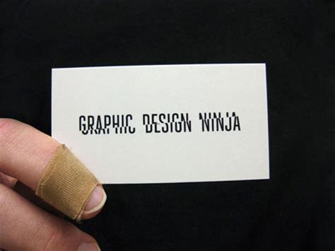 creative business card for graphic design