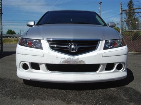 2004 acura tsx front bumper 2004 2005 acura tsx 4dr ken style front bumper