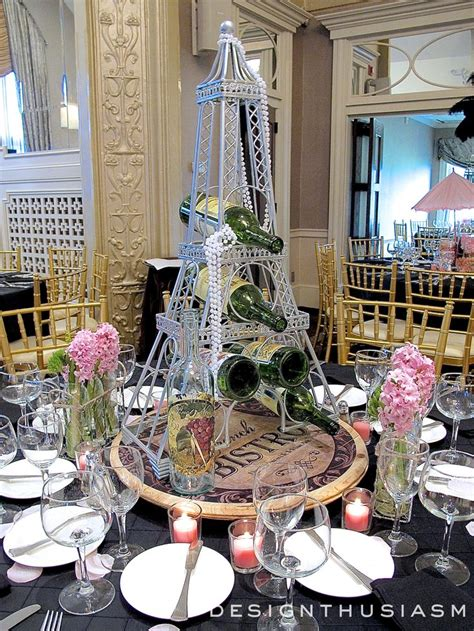 themed events in april april in paris centerpieces for a spring party