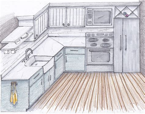kitchen drawings dream kitchen sarah catherine design