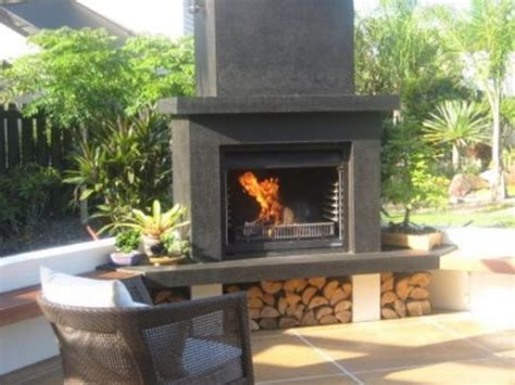 Outdoor Open Fireplace by Fireplace By Warmington Outdoor Fireplaces Gas Wood Log
