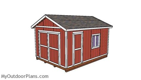 12 By 16 Storage Shed by 32 Free 12x16 Storage Shed Plans Garden Shed Plans Garden
