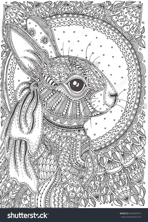 peaceful patterns coloring pages stylish and peaceful animal pattern colouring pages image