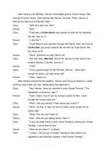 contoh english drama script